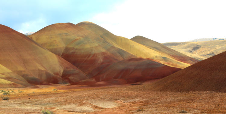 The Painted Hills near Mitchell, Oregon.