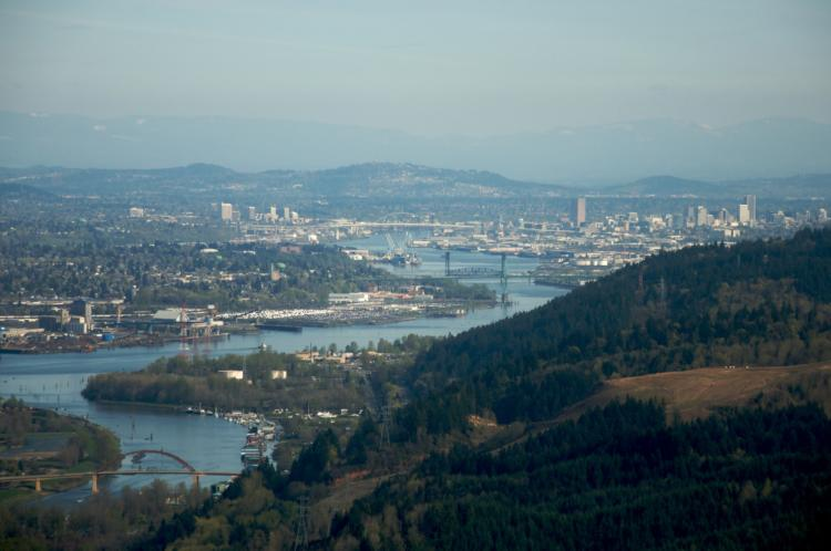 The urban areas, rivers, agriculture, and natural areas in and around the city of Portland all provide habitat and conservation opportunities.